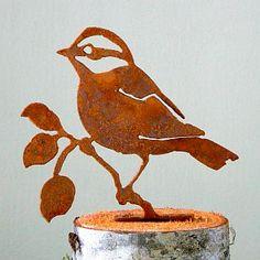 Elegant Garden Design Silhouette Chickadee #2