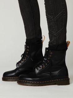 Vegan Leather Doc Marten Boots