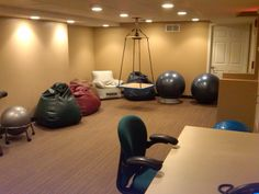 sensory room from Turning Pointe Autism foundation