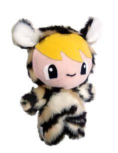 Fluse Kawaii  Plush Doll little Tiger von Fluse123 auf Etsy, €29.00