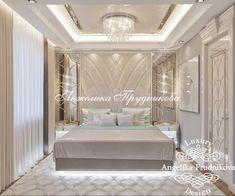 Modern Luxury Bedroom, Luxury Decor, Luxurious Bedrooms, Luxury Interior, Interior Design, Bedroom False Ceiling Design, Master Bedroom Design, Carved Beds, Corridor Design