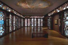 The well loved Porcelain Room at Seattle Art Museum Seattle Art Museum, Museum Exhibition, Ceramic Art, Family Portraits, Backdrops, Chandelier, Ceiling Lights, Ceramics, Porcelain