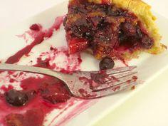 Apple Gingerberry Deep Dish Pie - Sugar Rush! Recipe to print!