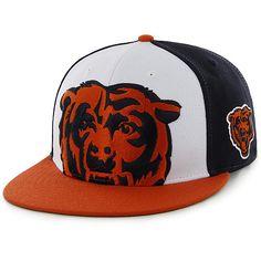Men s  47 Brand Chicago Bears Tri-Color Colossal Structured Snapback Adjustable  Hat - ESPN ff3043f12ede