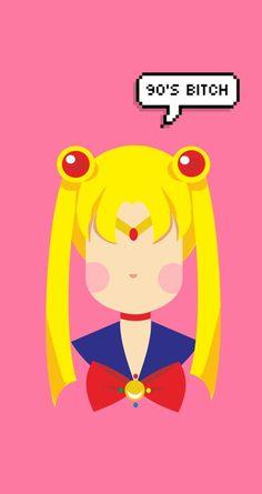 Sailor moon #art #vector #sailormoon Sailor Moon Crafts, Sailor Moon Art, Moon Vector, Moon Princess, Princess Serenity, Sailor Scouts, I Wallpaper, Fnaf, Project Ideas