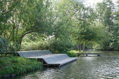 Landscape Architecture Design, Garden Landscape Design, Urban Landscape, Outdoor Rooms, Outdoor Gardens, Outdoor Living, Parque Linear, Garden Spaces, Bungalows