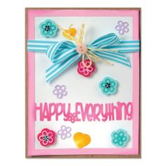 Sizzix Drop-in Card Front Dies. Also has Happy Anniversary and Merry Christmas dies.