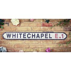 Buy Old Reproduction Wooden London Street Wood Road Signs Retro & Vintage Antique Style Black & White London Road Wall Signs Camden Square, Manchester United Old Trafford, Wc Sign, Carrow Road, London Sign, St James' Park, Bethnal Green, Fleet Street, Brighton And Hove