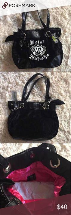 New with tags Metal Mulisha Purse Brand new with tags Metal Mulisha  Never Used Metal Mulisha Bags Shoulder Bags