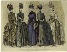 1880's bustle dress - Google Search