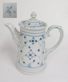 1,5 l Kaffeekanne Strohblume indisch blau