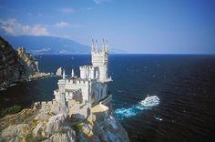 The Swallow's Nest Castle, Yalta, Ukraine.
