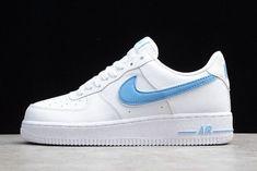 Köp nu Herr Nike Air Force 1 Vit Old Royal Skor Höst