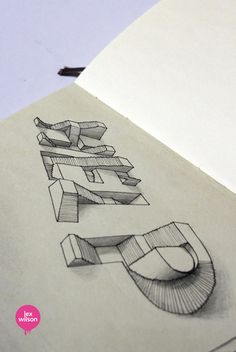 3d optical illusion typography by lex wilson (3)