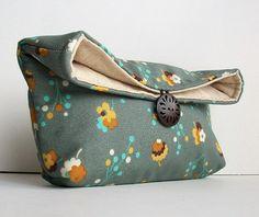 cute diaper clutch idea.