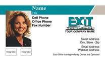Exit Realty Business Card WP1009. Visit http://www.bestprintbuy.com/exit-realty/exit-realty-business-cards/exit-realty-business-cards-with-photo.htm