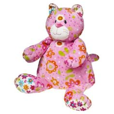 "Mary Meyer Print Pizzazz, Pinky Cat, 12"" by Mary Meyer. $13.71. Mary Meyer has been making quality stuffed toys for more than 77 years and we are dedicated to bringing you beautiful, safe, educational toys and collectibles from the best materials. Print Pizzazz creatures are made of soft, huggable velour fabric in mixed prints and bold colors. Pinky Cat measures 12"". Safe for children of every age, Mary Meyer's products are all made to strict quality standards t..."