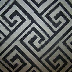 Geometric Print Drapes Custom Made Window by draperyloft on Etsy, $215.00