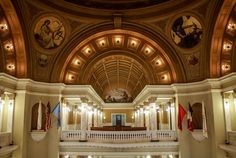 Top 5 Capitols in the United States Pierre South Dakota, South Dakota State, Moorish, Historical Society, Beautiful Buildings, Capital City, Nebraska, State Parks, Barcelona Cathedral