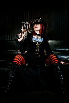 steampunk fashion - Steampunk Photoshoot