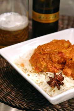 Butter-chicken recipe. Find many more delicious Indian recipes on this site!