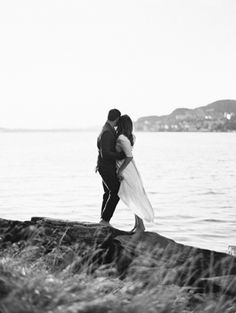 Organic Wedding on the Fjords of Norway. Stunning!