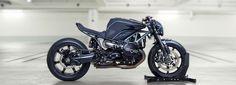 diamond atelier's custom-built BMW R nineT neo-racer motorcycle