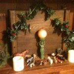 Birth of the Sun - pagan nativity scene