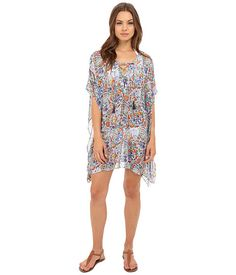 Tommy Bahama Provincial Short Caftan Cover-Up