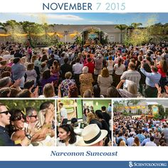 Today we recognize the anniversary of the dedication of Narconon Suncoast in Clearwater, Florida in 2015. As some 3,000 enthusiastic supporters looked on, the model Narconon Suncoast was welcomed into the widening family of rehabilitation centers that employ the groundbreaking drug rehab technology, pioneered by L. Ron Hubbard, during a stirring dedication ceremony in Clearwater.