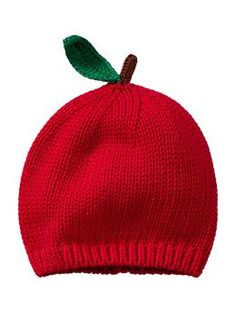 Apple hat for Baby  Gap