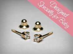 Hey, I found this really awesome Etsy listing at https://www.etsy.com/listing/483341347/diamond-earrings-for-baby-diamond-stud