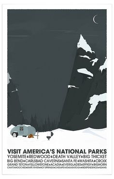 America's Parks Poster