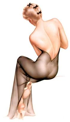 I love the classic pinup girls, I think they are so beautiful and artistic.