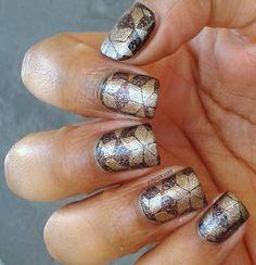 Kleancolor Kiss Goodbye and stamping Gals 17 Kiko Gold 628