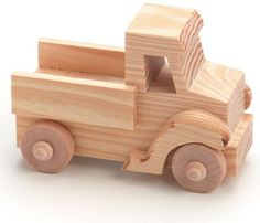 Darice Wood Toy Kit, Truck, 4' x 2.75', As Shown
