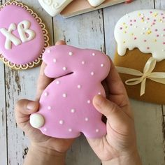 New Cookies Royal Icing Frostings Ideas Lemon Biscuits, Easter Biscuits, Iced Biscuits, No Bake Sugar Cookies, Iced Cookies, Cake Cookies, Easter Cupcakes, Easter Cookies, Easter Treats