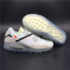 OFF WHITE x Nike Air Max 90 White on www.jordan12low.com Nuevos Zapatos accddc65da5