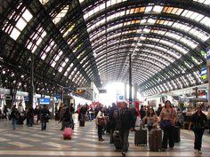 Milan, Train Station. Milano, Italia.