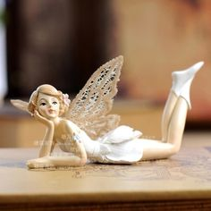 Cheap Resin Crafts, Buy Directly from China Suppliers: Product Material : High quality resin [ Features] Process : Hand Painted Product specifications app: height x widt Fairy Figurines, Fairy Dolls, Resin Crafts, Birthday Gifts, Christmas Decorations, Home And Garden, Hand Painted, Statue, Ornaments