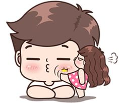 This love for you, send your love to your couple. It's so cute >. Cute Cartoon Boy, Love Cartoon Couple, Cute Couple Art, Cute Love Cartoons, Cute Couples, Cute Love Pictures, Cute Cartoon Pictures, Cute Love Gif, Cartoon Pics