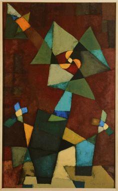 Klee Megánthemum, 1927.