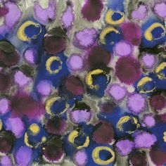"""Detail of """"Amethyst and Blue Sapphire """" painting part of """"Lustre"""" series Mixed Media Abstract Geometric Ink Artwork by London artist Vera Blagev (Vera Vera On The Wall) featuring geometric circular shapes full of texture & colour. www.veraveraonthewall.com Get your free Art Lovers Christmas Gift Guide https://www.veraveraonthewall.com/pages/get-your-christmas-gift-guide-for-the-art-lover    #artwork #art #painting #abstractpainting #londonartist #abstractart #homedecor #interiors #artforsale"""