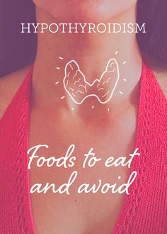Discover the foods you should eat and avoid when you have hypothyroidism. Pursue a healthier diet to have this disease under control. Hypothyroidism Diet, Foods To Eat, Diet Recipes, Healthy, Skinny Recipes, Health, Healthy Diet Recipes