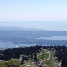 From the top of Grouse Mountain - Vancouver BC - incredible hike, hope to do it again soon :) Grouse, Places Ive Been, Vancouver, Hiking, The Incredibles, Spaces, Mountains, Nature, Top