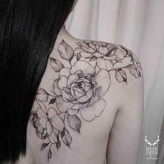 ** Flower Tattoos On Shoulder Blade | Biggest Tattoo Ideas Gallery...
