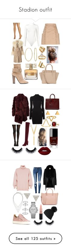 """""""Stadion outfit"""" by kerstin22 ❤ liked on Polyvore featuring Balmain, Wolford, Avenue, Giuseppe Zanotti, Salvatore Ferragamo, Bling Jewelry, Allurez, Annello, Miss Selfridge and Givenchy"""