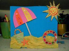 Kids Crafts, Summer Crafts For Kids, Toddler Crafts, Spring Crafts, Art For Kids, Diy And Crafts, Paper Crafts, Diy Paper, Ocean Crafts
