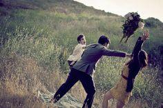 zombie engagement pics...funny