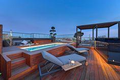 Piscinas de estilo moderno de FADD Architects